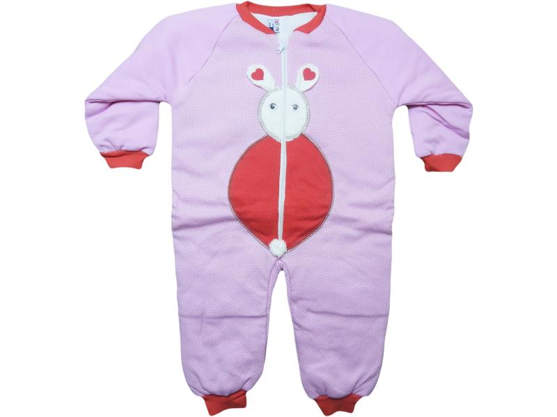 wholesale baby rompers sleeping with embroidery Bunny, for girls 4-5-6 years