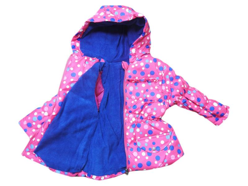 1002 Wholesale quality and cheap wool detailed coat for girl babies 9-12-18-24 month