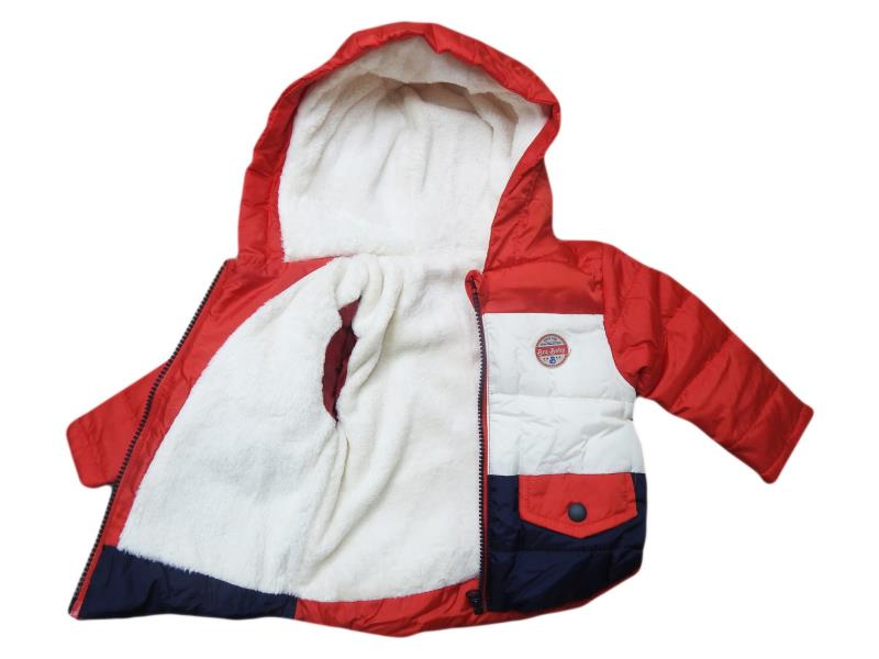 3110 Wholesale quality and cheap wool detailed coat for boy babies 9-12-18-24 month