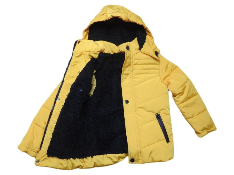 1805 Wholesale quality and cheap wool detailed coat for boy children  6-7-8-9 age