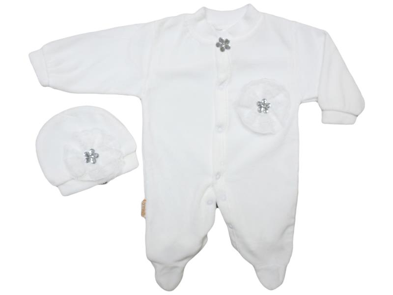 961 wholesale quality and cheap velvet detaild overalls for babies  0-3-6 month