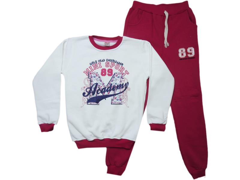 1255 Two piece winte detailed tracksuits for children  9-10-11-12 age