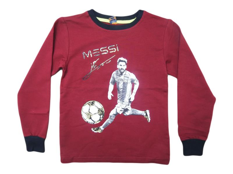 5486.Wholesale cheap and quality seasonal MESSİ printed sweatshirt for boy chilren 5-6-7-8-9 age