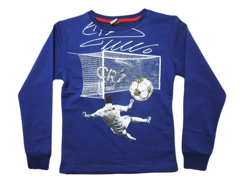 5485.Wholesale cheap and quality seasonal RONALDO printed sweatshirt for boy chilren 5-6-7-8-9 age