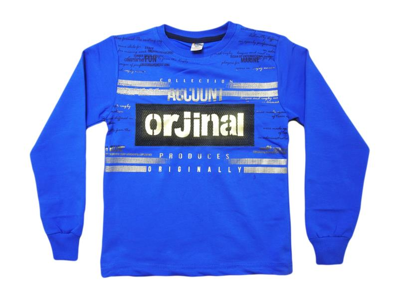 5524.Wholesale cheap and quality seasonal orjinal printed sweatshirt for boy chilren  5-6-7-8-9 age