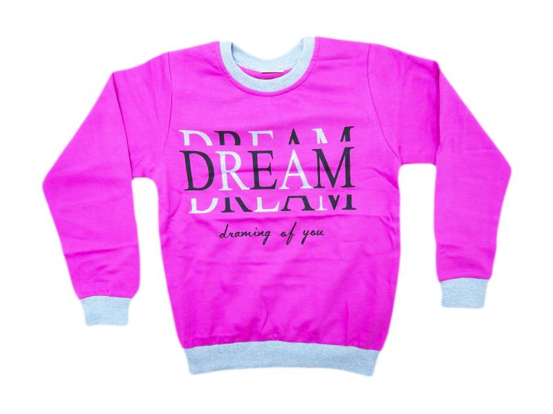 8047 dream baskılı sweat 2 ip 6-7-8-9-10 yaş