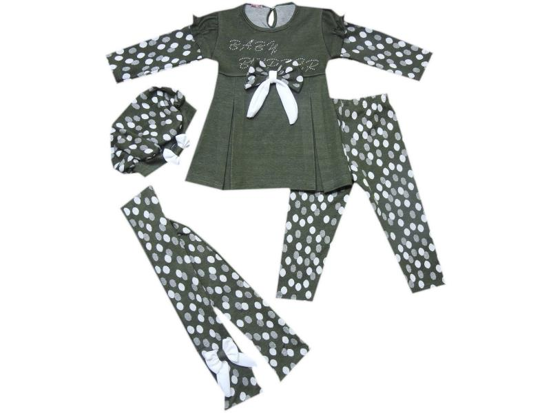 18319 Wholesale quality and cheap hooded detailed dress for girl babies 9-12-18-24 month