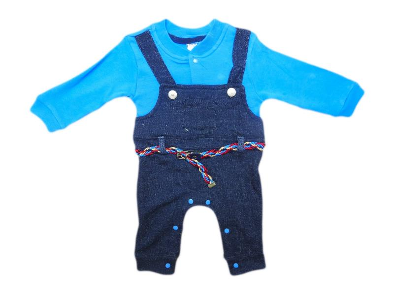3321 Wholesale quality and cheap overalls for boy babies 3-6-9 month