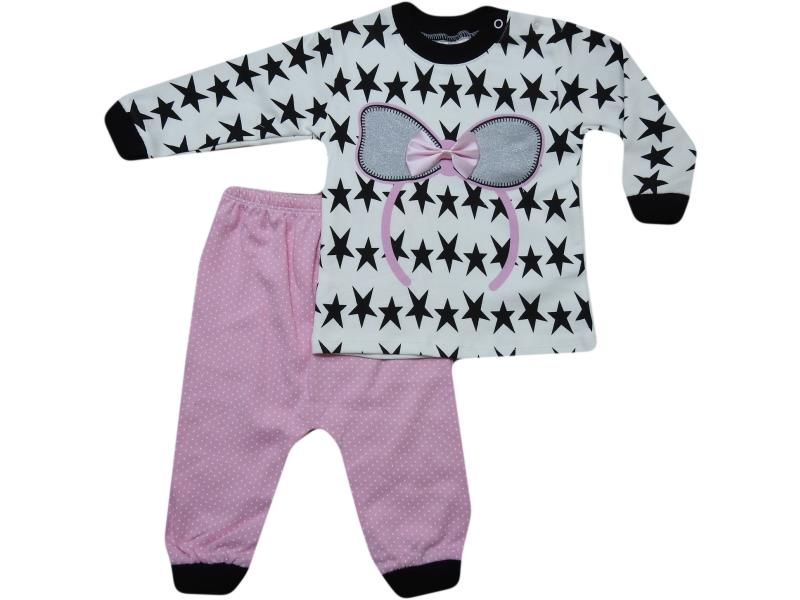 627 Wholesale quality and cheap two piece set for girl babies 6-12-18 month