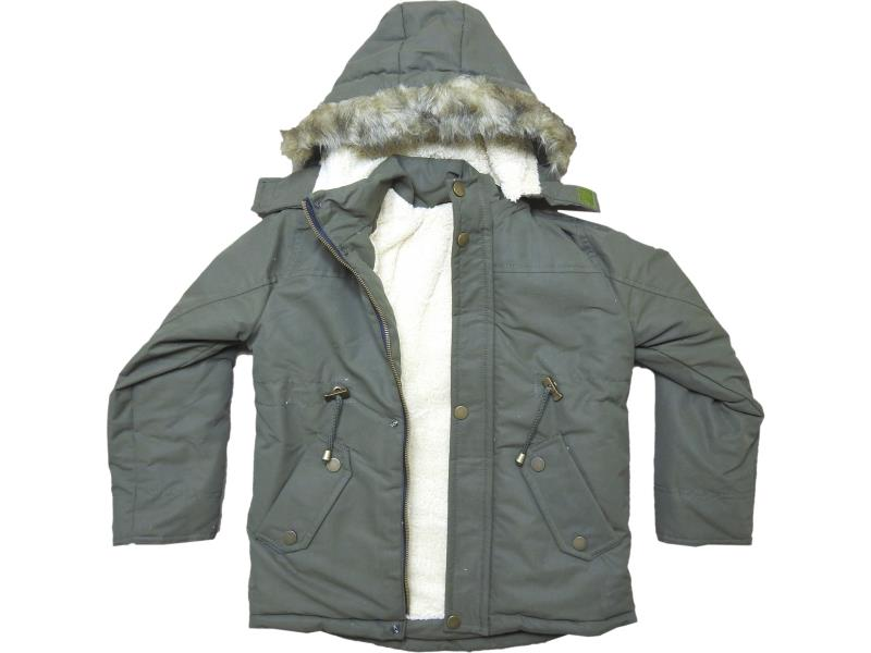 1813 Wholesale quality and cheap parka coat for boy child  6-7-8-9 age