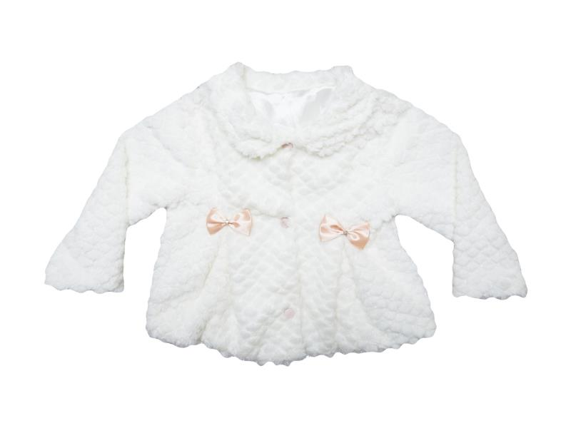 812 Wholesale quality and cheap coat for girl babies 1-2-3-4 age
