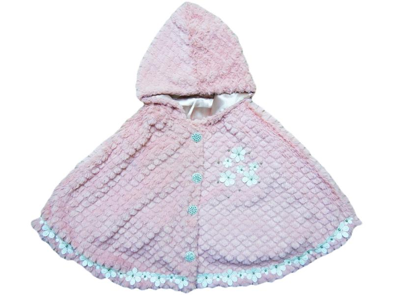 807 Wholesale quality and cheap cloak for girl babies 1-2-3-4 age