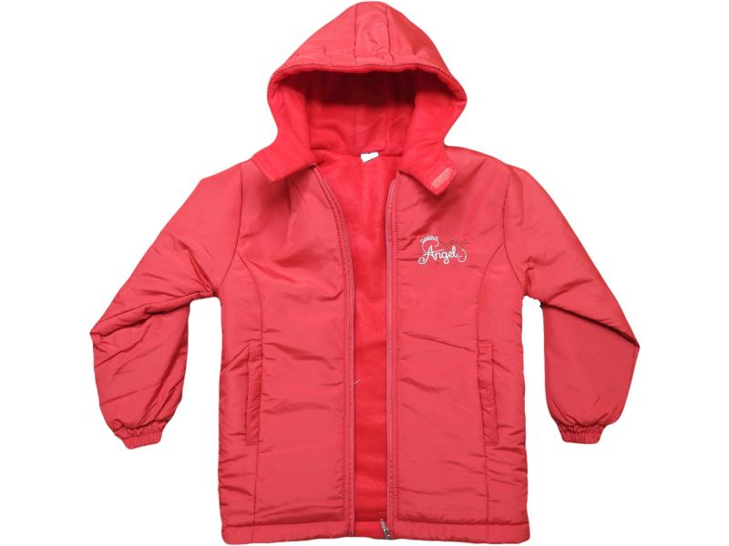 Wholesale quality and cheap hooded detailed winter coats for children  6-7-8-9 age