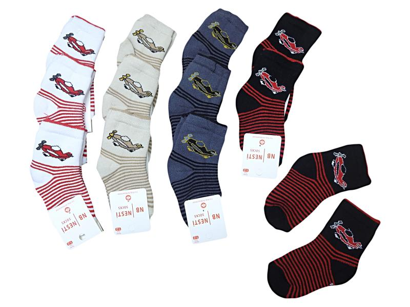 7821 wholesale quality and cheap 12 piece socks for babies