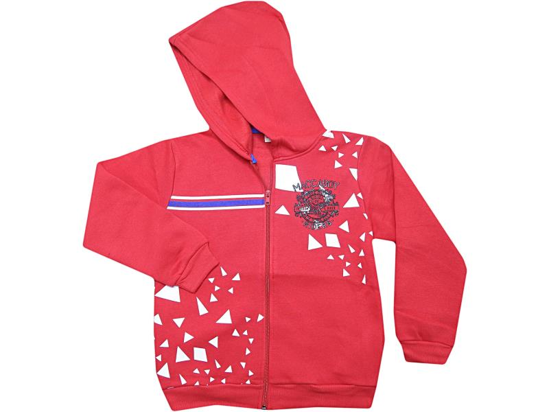 8229 Wholesale quality and cheap wintery 'riders' printed cardigan for children 7-8-9-10-11 age