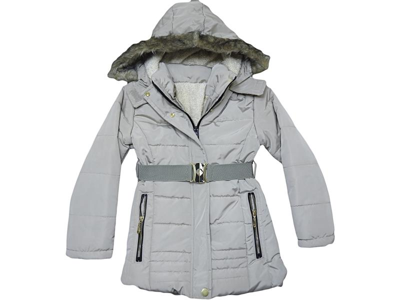 3004 Wholesale quality and cheap hooded coat for girl children 7-8-9-10 age