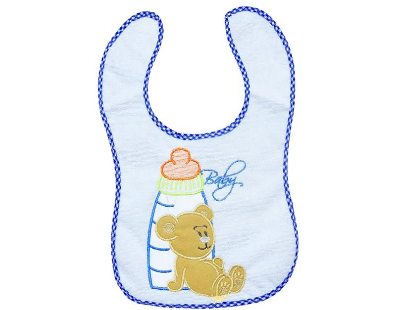 2012 wholesale baby bib apron with 6sets