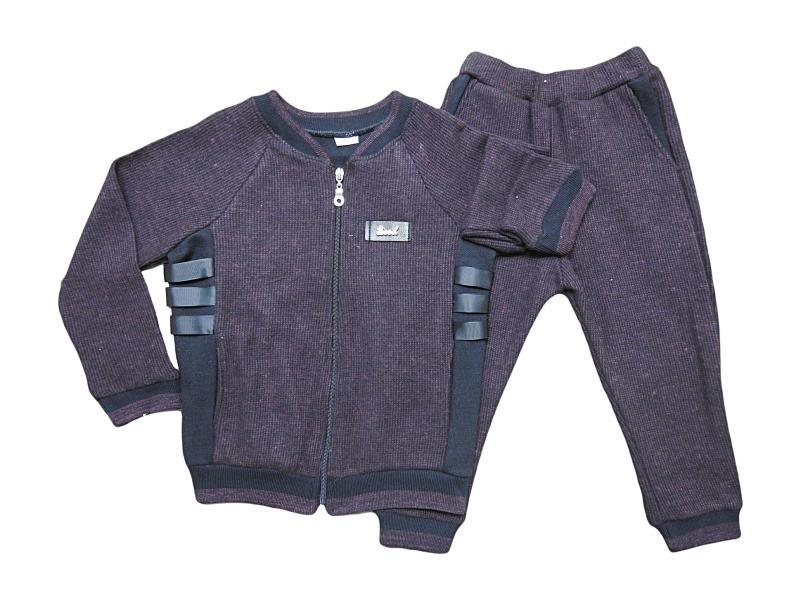 326Wholesale quality and cheap  track suit set for babies  2-3-4 age
