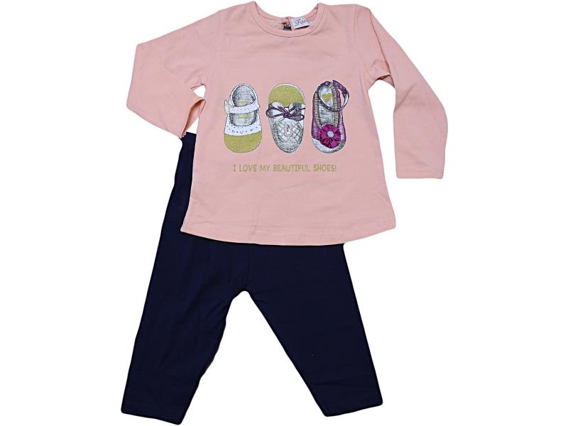FV18-7660 Wholesale quality and cheap two piece set for babies 6-9-12-18 month