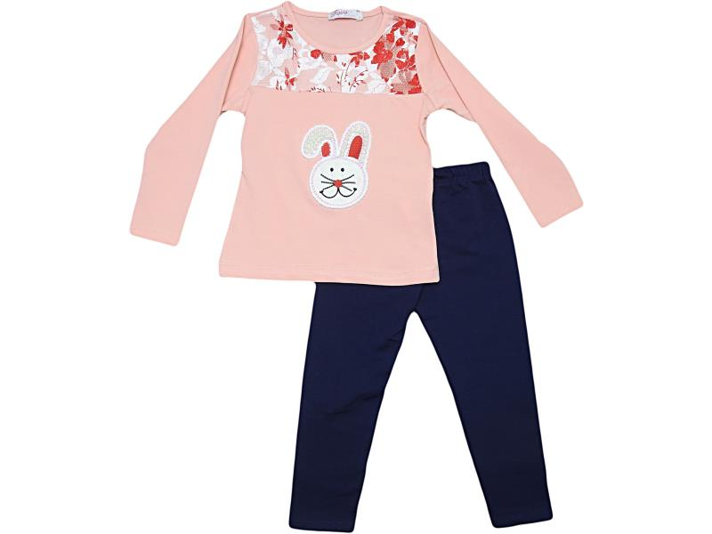 FV18-7757 Wholesale quality and cheap two piece set for babies 1-2-3-4 age