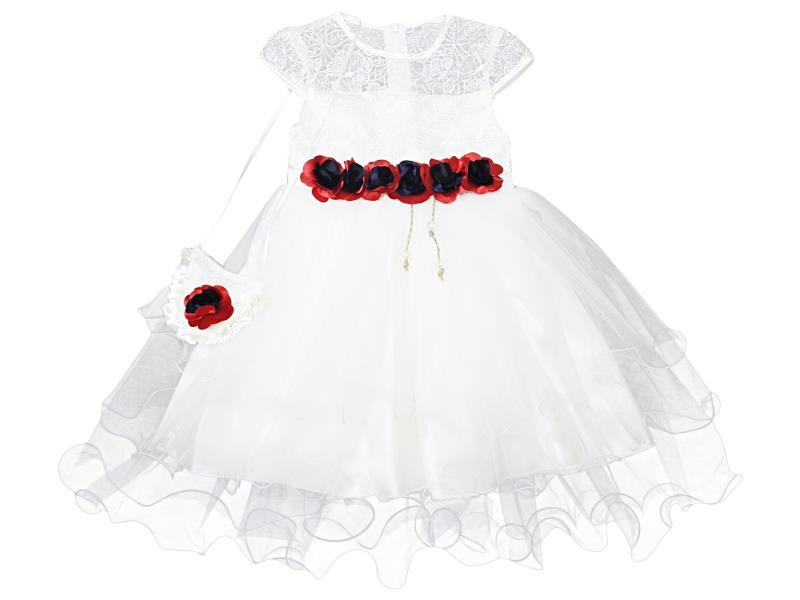 4001 Wholesale quality and cheap dress for girl babies 2-3-4-5 age