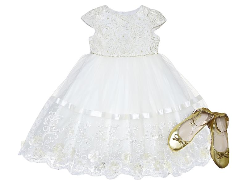 4042 Wholesale quality and cheap dress for girl babies  3-4-5-6 age