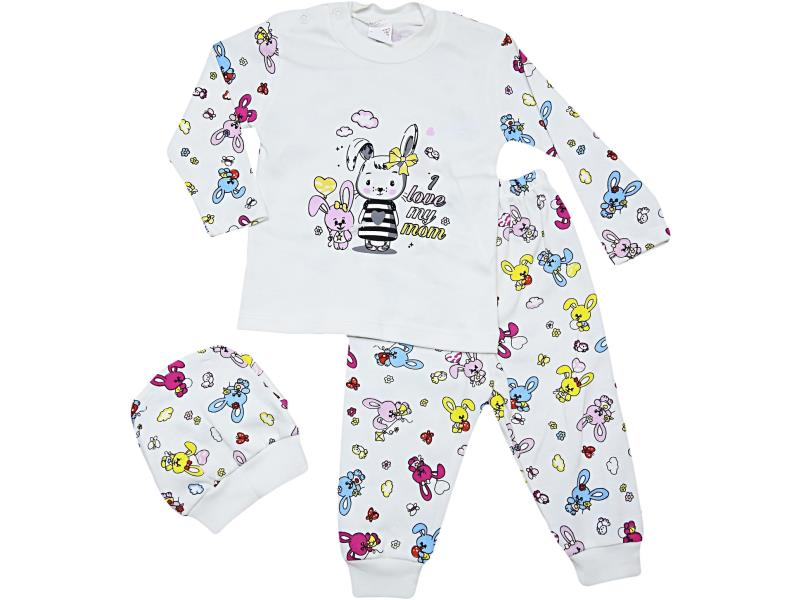 31135 Wholesale quality and cheap snapsuit for babies 3-6-9 month