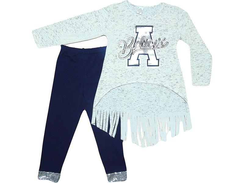 7202 Wholesale quality and cheap two piece set for babies 2-3-4-5 age