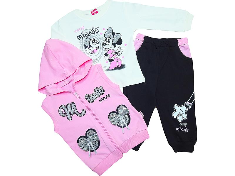 312 Wholesale quality and cheap triple for girl babies  12-18-24 month