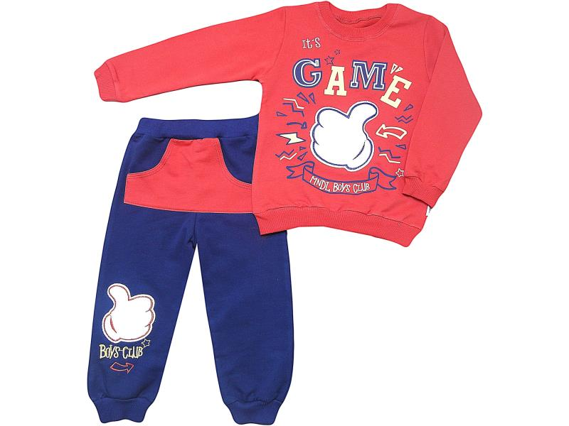 309 Wholesale quality and cheap two piece set for babies 2-3-4 age