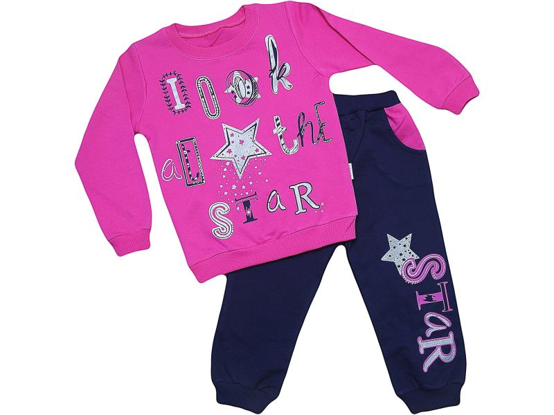 319 Wholesale quality and cheap two piece set for babies  2-3-4 age