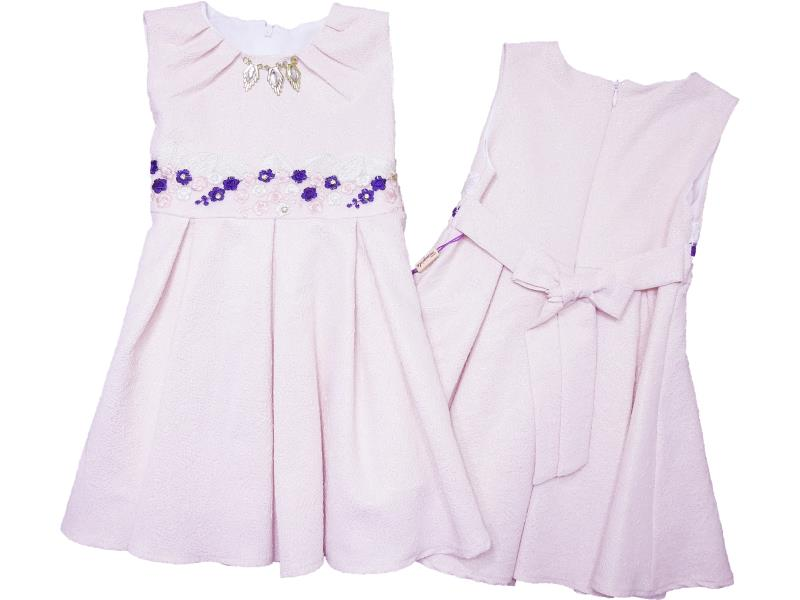 9007 Wholesale quality and cheap dress for girl children 1-2-3-4 age