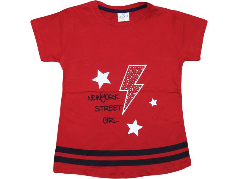 9017 wholesale quality and cheap t-shirt for children 6-7-8-9 age