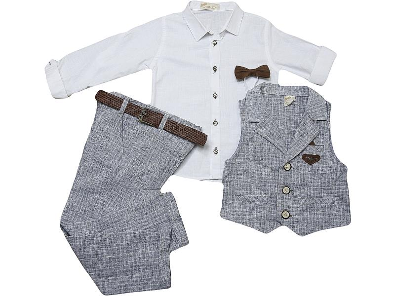 M-9173 Wholesale quality and cheap triple set for babies 1-2-3-4 age