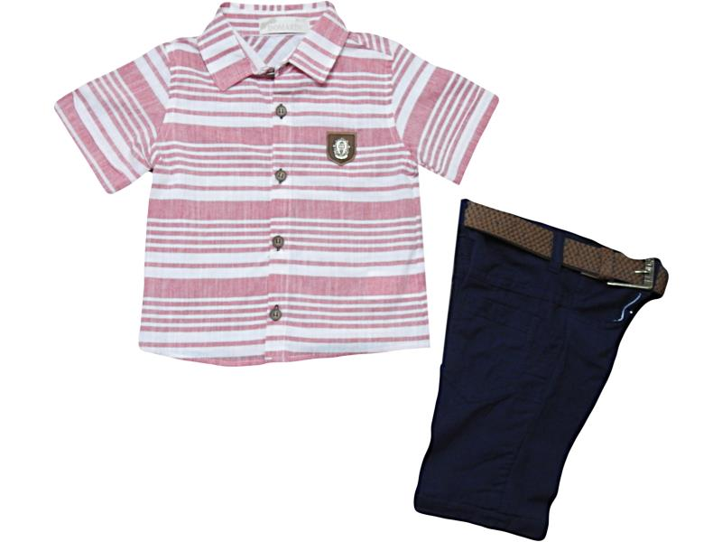 M-9119 Wholesale quality and cheap two piece set boy babies 1-2-3-4 age