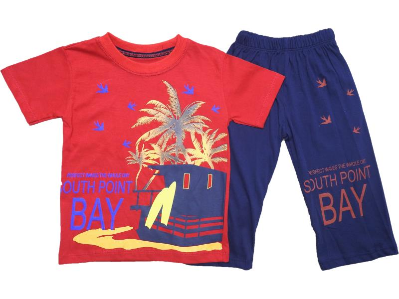 Wholesale quality and cheap two piece set for boy children 5-6-7-8 age