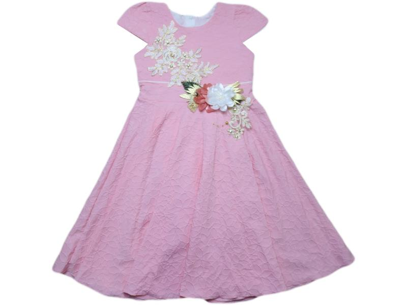 481 Wholesale quality and cheap dress for girl children 9-10-11-12 age