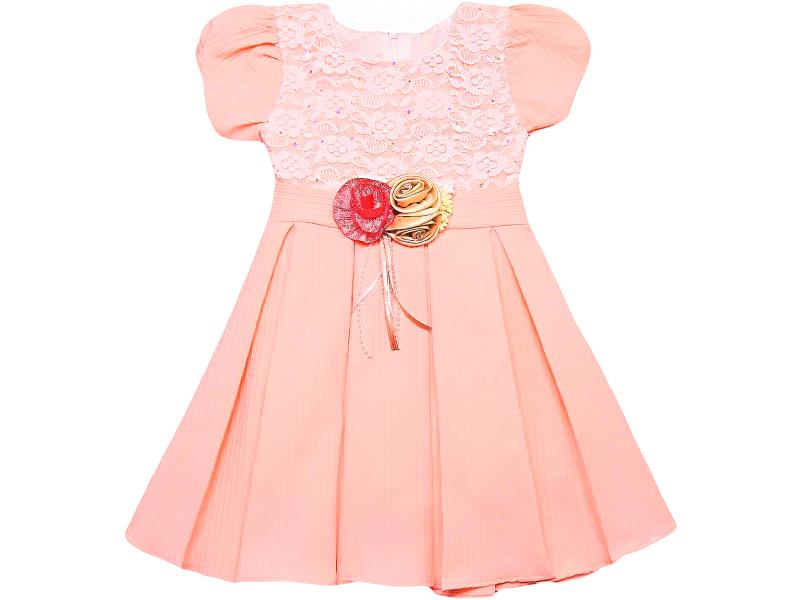 474 Wholesale quality and cheap dress for girl children 5-6-7-8 age