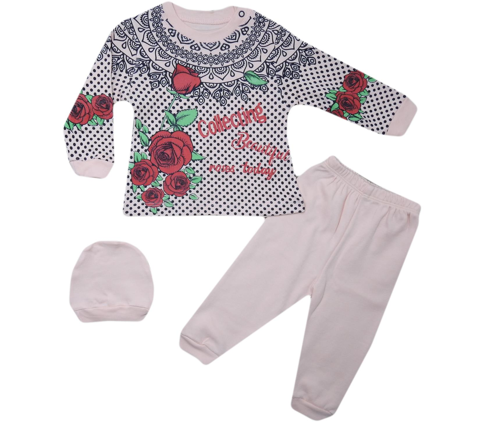 313 Wholesale Quality and Cheap Set for Girl Babies 9-12-18 Month