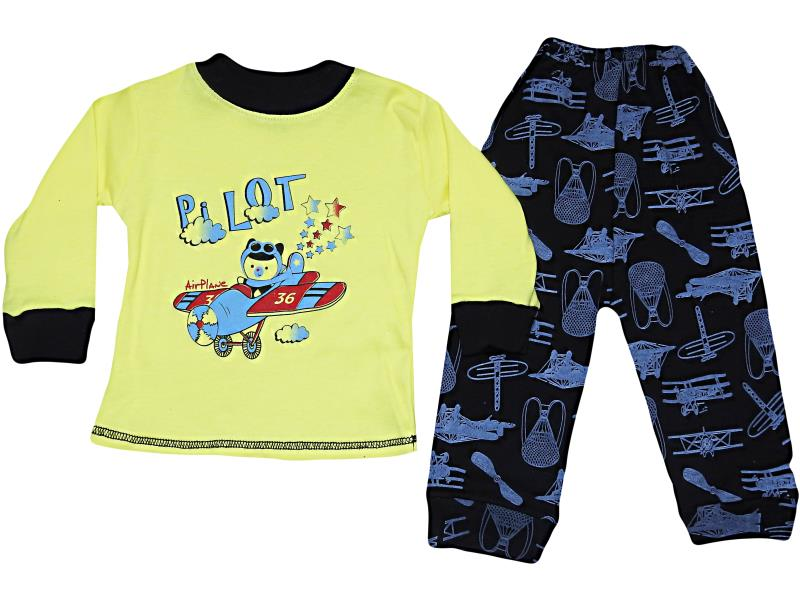 329-321 Wholesale quality and cheap two piece set for boy babies 12 month