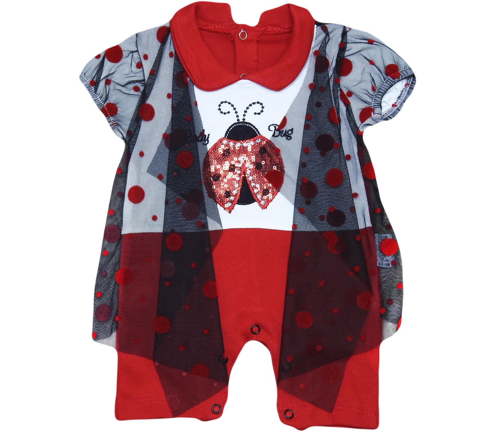 1583 Wholesale quality and cheap overalls for girl babies  3-6-9 month