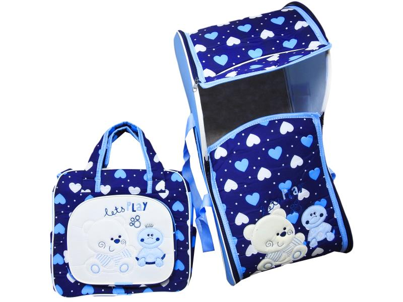 085 baby bag set 2 pcs embroidered