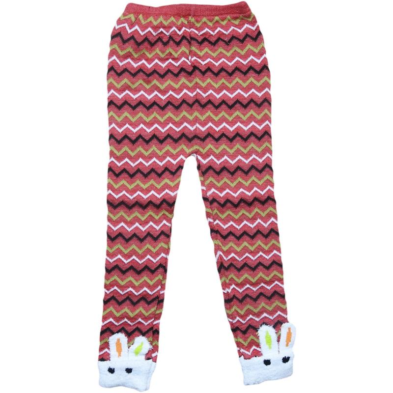 1no Children's tights with rabbit ears 1-2-3 years old