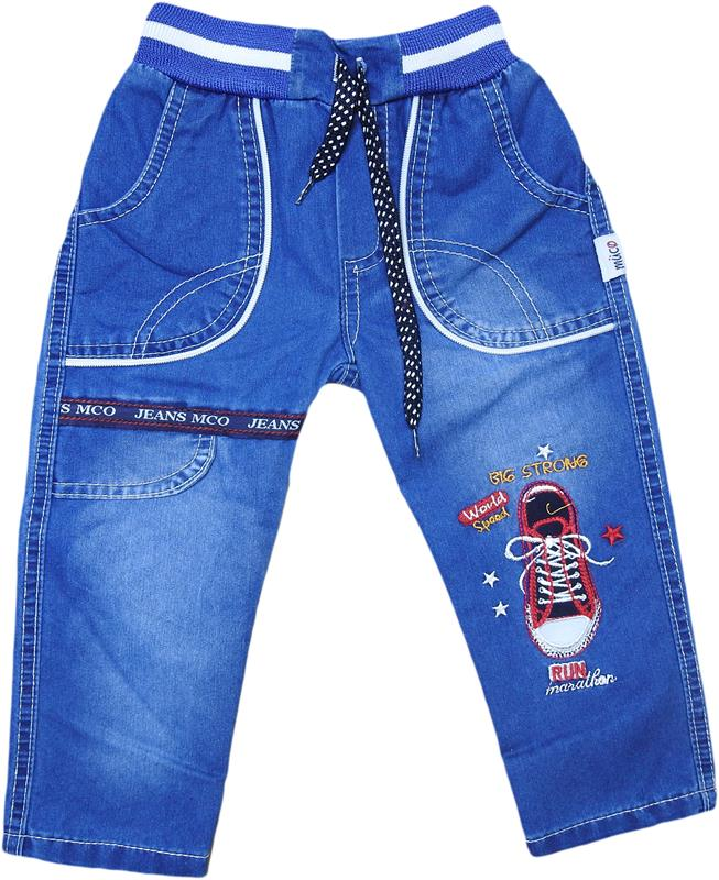 1084 wholesale denim trousers with shoes print for 2-3-4-5 years old boys.