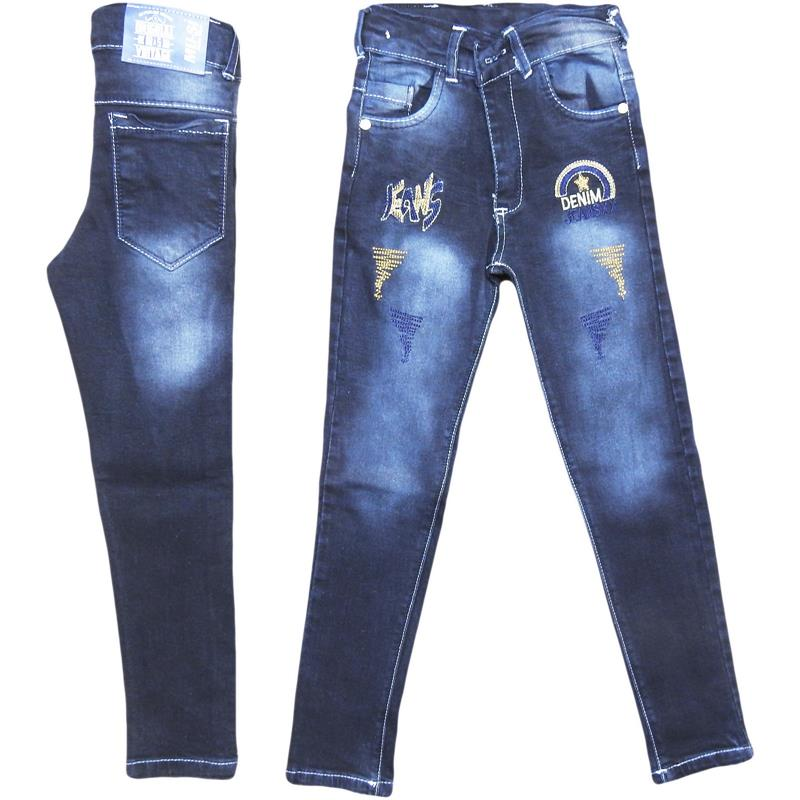 wholesale denim pants for children 8-9-10-11-12 years