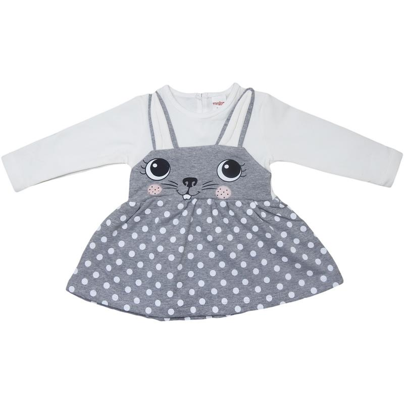 19532 wholesale baby dresses for girls on 9-12-18-24 months