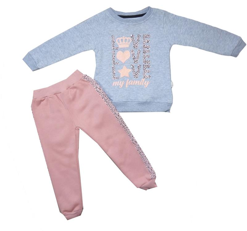 601 wholesale baby two piece suits for girls for 2-3-4-5 months