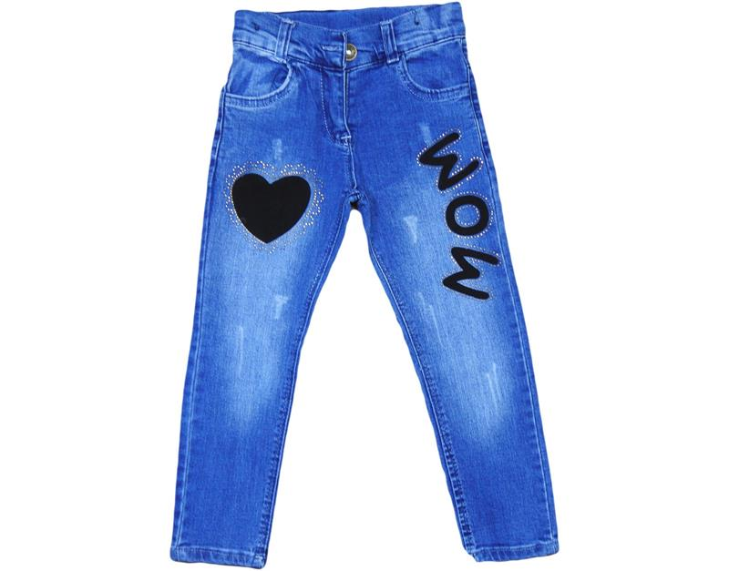 Wholesale children jeans pants 3-4-5-6-7 years old