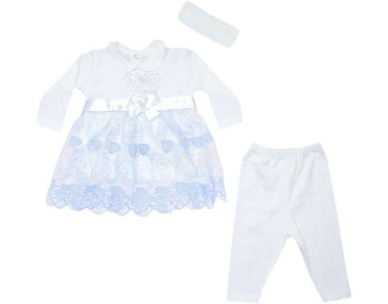 41061 wholesale baby girl suit 3-6 months