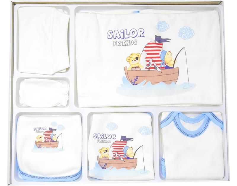 6118 wholesale baby set with 10 digital kayak print boxes